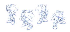 Sonic Sketches by Hydro-King