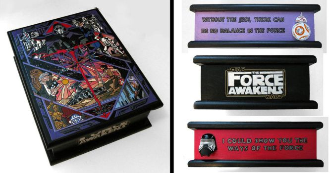 The Force Awakens - hand-painted box by RFabiano