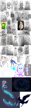 massive sketch dump by Crionym