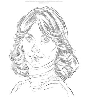 Kate Jackson - Pencils by Jon-Moss