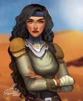 Commission: Tess T'faarah by HalChroma