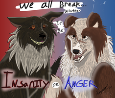 We all Break whether it Be Insanity or Anger AT by Gerundive