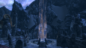 Skyrim - Skuldafn, The Gate to Sovngarde by Wr47h