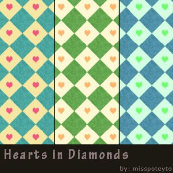 Hearts in Diamonds by missPoteyto