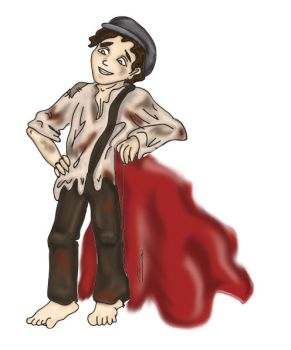 Gavroche for petition by RiderRRiddle