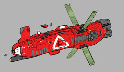 Somtaaw Rescue Corvette by Norsehound
