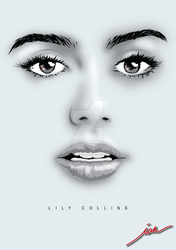 Lily Collins by chaoticmind