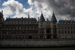 French Castle Stock by Sheiabah-Stock
