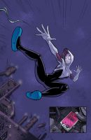 Spider-Gwen 05 by Hominids