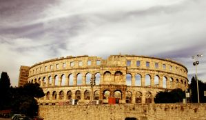 Amphitheater Pula, Croatia by ThePraiodanish