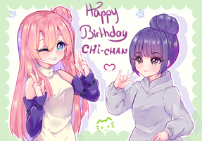 [+Video] Gift - Happy Birthday Chi-chan ! by Nelkah-Kaylina