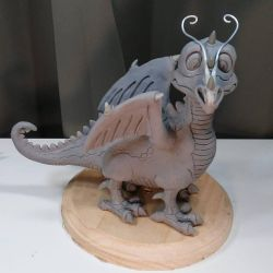 Baby Gorbash Sculpt by DragonCid