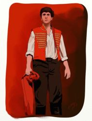 Enjolras by widfl