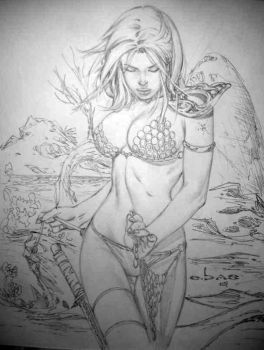 red sonja by ebas