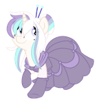 [COMM] Pastel Tanzanite for AmcthystPenguin (2/2) by CrystalPonyArt7669