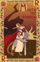 Martin the Warrior Book Cover (Revamped) by Fox-The-Wandering