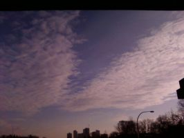 The Toronto Sky by MyBizarreRomance