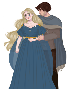 Tristan and Iseult by tiachristiner