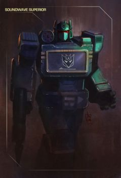 Soundwave Superior by geeshin