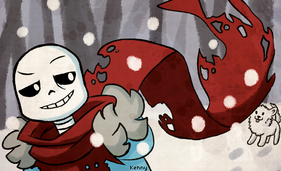 Sans: *come on annoying dog by Timeless-Knight