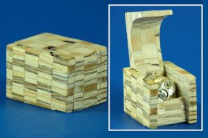 Plywood Block with Pendant by Fandragon