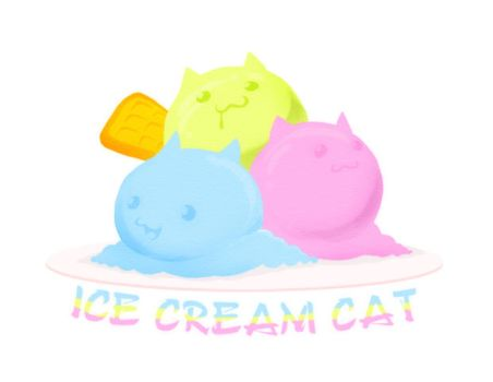 Ice Cream Cat by vaporotem