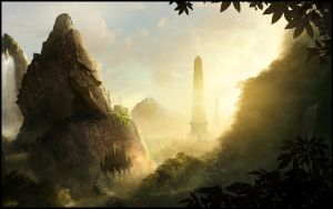 The Lost valley by TamplierPainter