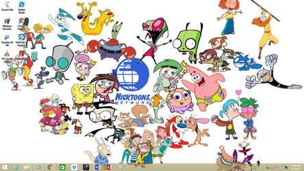 Classic Nicktoons on SPED's Win8.1 by jcpag2010