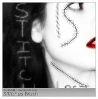 Stitches Brush by Scully7491