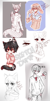 Sketchdump .:HA:. by Kanami-Chii