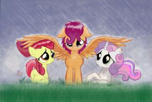 Caught in the Rain by Invalid-David