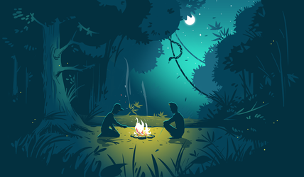Camping by Icondesire