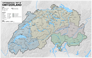 A Greater (and reorganized) Switzerland by altmaps