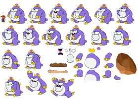 King Montgomery page 1 (Paper Mario Style) by DerekminyA
