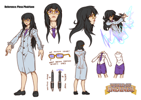 cms - Pless Pharlane reference sheet by FontesMakua
