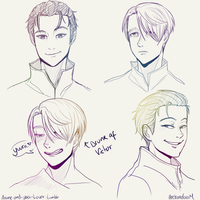 Facial expressions practice by ArehandoraM