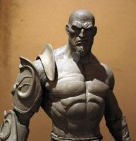 Escultura de Kratos escala 1/2 -4 by rieraescultura-art