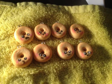 Donut Charms by Sigilien