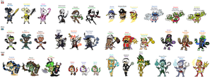 Skylanders World - Costumes #3 by JoltikLover
