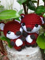 Little Foxes by voodoomaggie