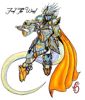 SDGF Project Storm: Wind Diety Fael by optimusprimus001