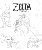 CotT Cover - Lines by Lady-Zelda-of-Hyrule