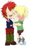 .Commission - Chibi Kid Otoya and Syo. by FMAandYGO5dsgirl