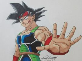 Bardock!-request by gokujr96