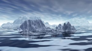 The realm of the Ice Bear by Fractalholic