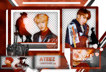 +ATEEZ (TREASURE EP 2: ZERO TO ONE) |PACK PNG |2O8 by iLovemeright