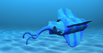 Alien ''squid'' finished by PeteriDish