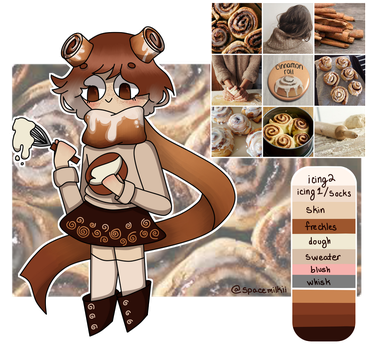 Aesthetic Adopt Cinnamon Roll! [CLOSED] by spacemilkii