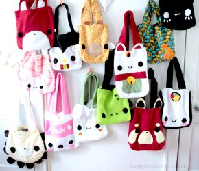 Cute Tote Bags by CosmiCosmos