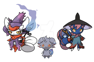 Espurr Fusion by UkyoLovest